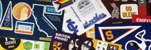 Sticker collage